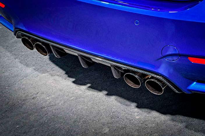 Фото | 2018 BMW M4 CS: диффузор из углепластика