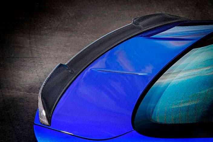 Фото | 2018 BMW M4 CS: спойлер на багажнике из углепластика