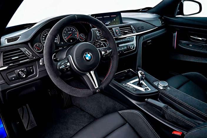 Фото | Спортивный салон BMW M4 CS