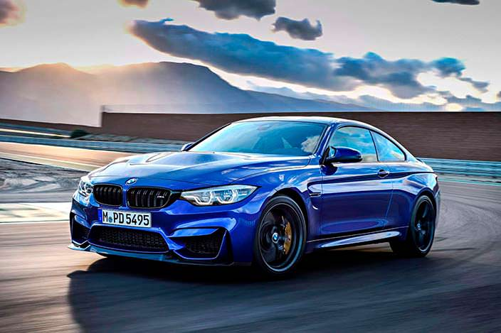Новая BMW M4 CS 2018 года