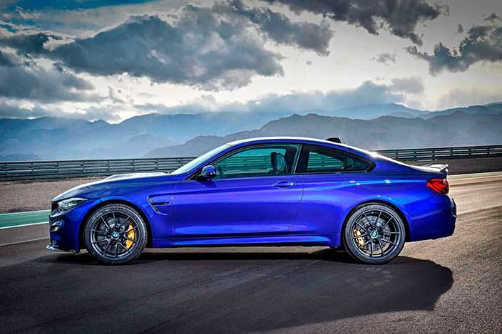 Новое спортивное купе BMW M4 CS: самая мощная M4