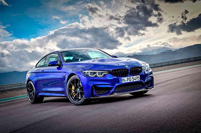 Новое спорткупе BMW M4 CS 2018 года