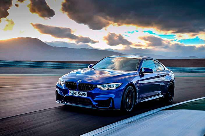 Фото | 2018 BMW M4 CS на гоночной трассе