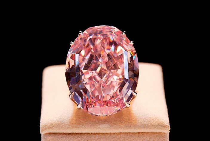 Фото | Бриллиант «Розовая звезда»: самый дорогой в мире
