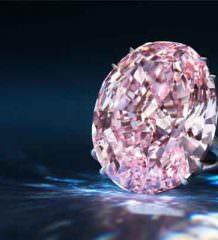 Самый дорогой бриллиант в мире Pink Star уйдет с молотка
