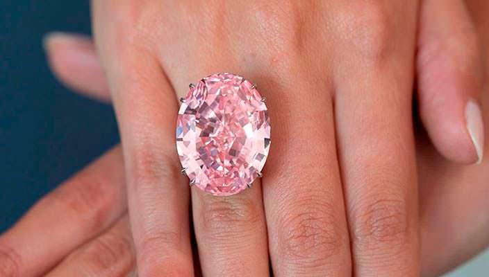 Фото | Розовый бриллиант Pink Star