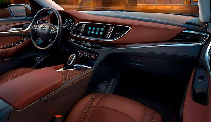 Фото | Кожаный салон Buick Enclave нового поколения