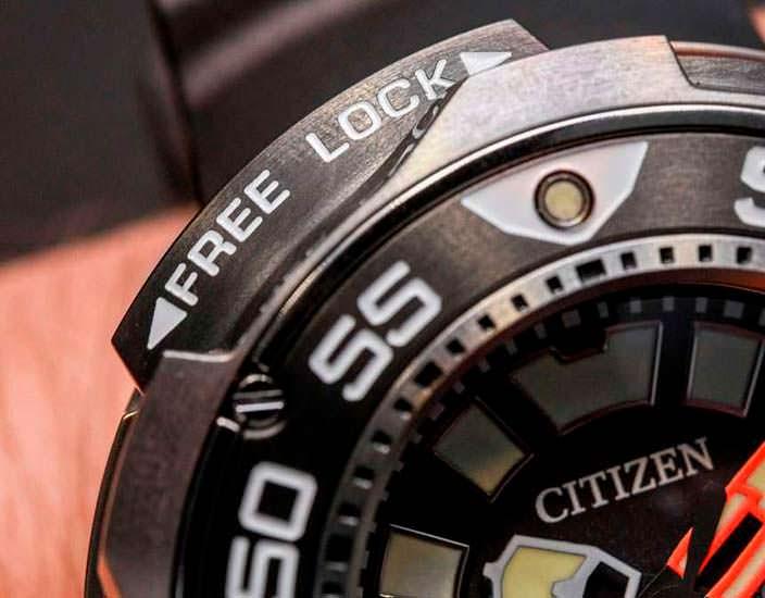 Профессиональные дайверские часы Ситизен