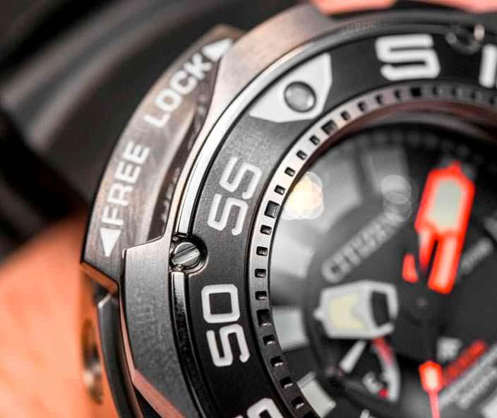 Часы для глубоководных погружений от Ситизен