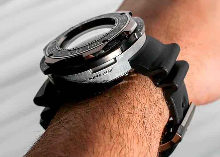 Японские дайверские часы Citizen Promaster Eco-Drive