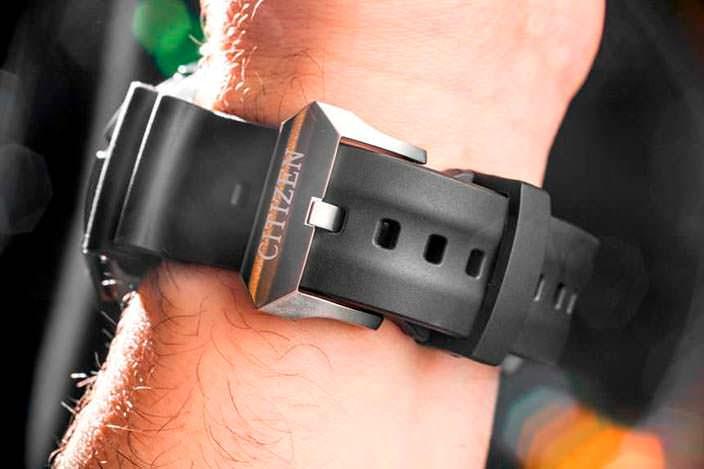 Лучшие дайверские часы на резиновом ремешке от Citizen