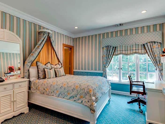 Фото | Маленькая уютная спальня дома на Лонг-Айленде