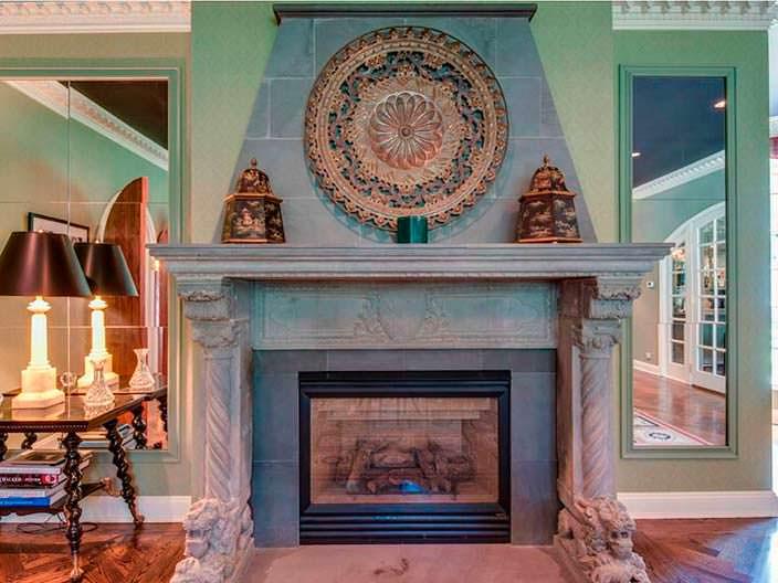 Фото | Дизайн камина в доме