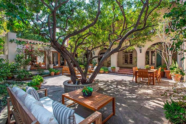 Дом в испанском стиле Марлен Дитрих в Лос-Анджелесе