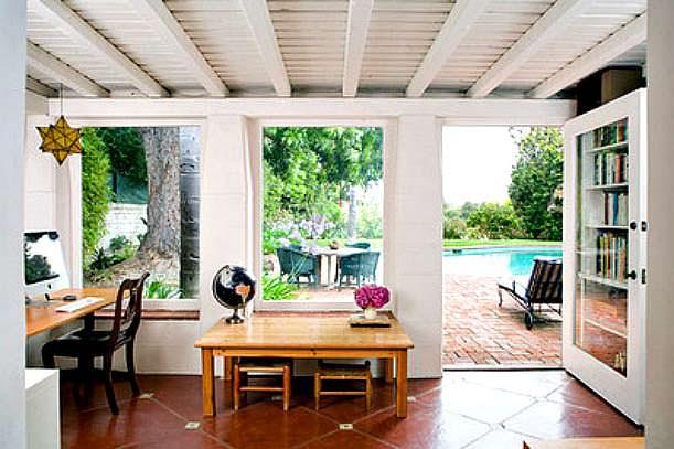 Фото | Дизайн рабочего кабинета в доме Мэрилин Монро