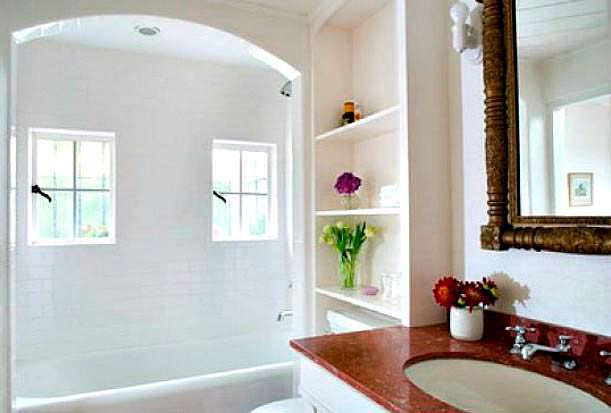 Фото | Дизайн ванной комнаты в доме Мэрилин Монро