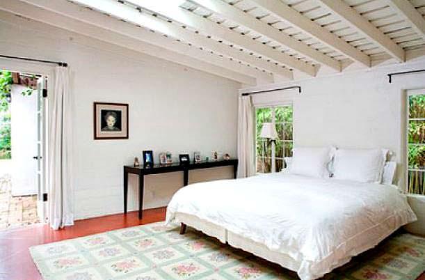 Фото | Спальня в доме Мэрилин Монро
