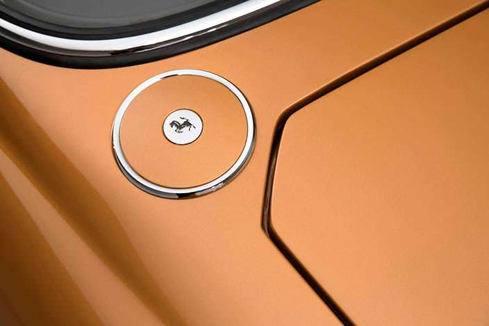 Фото | Крышка топливного бака Ferrari 330 GTC