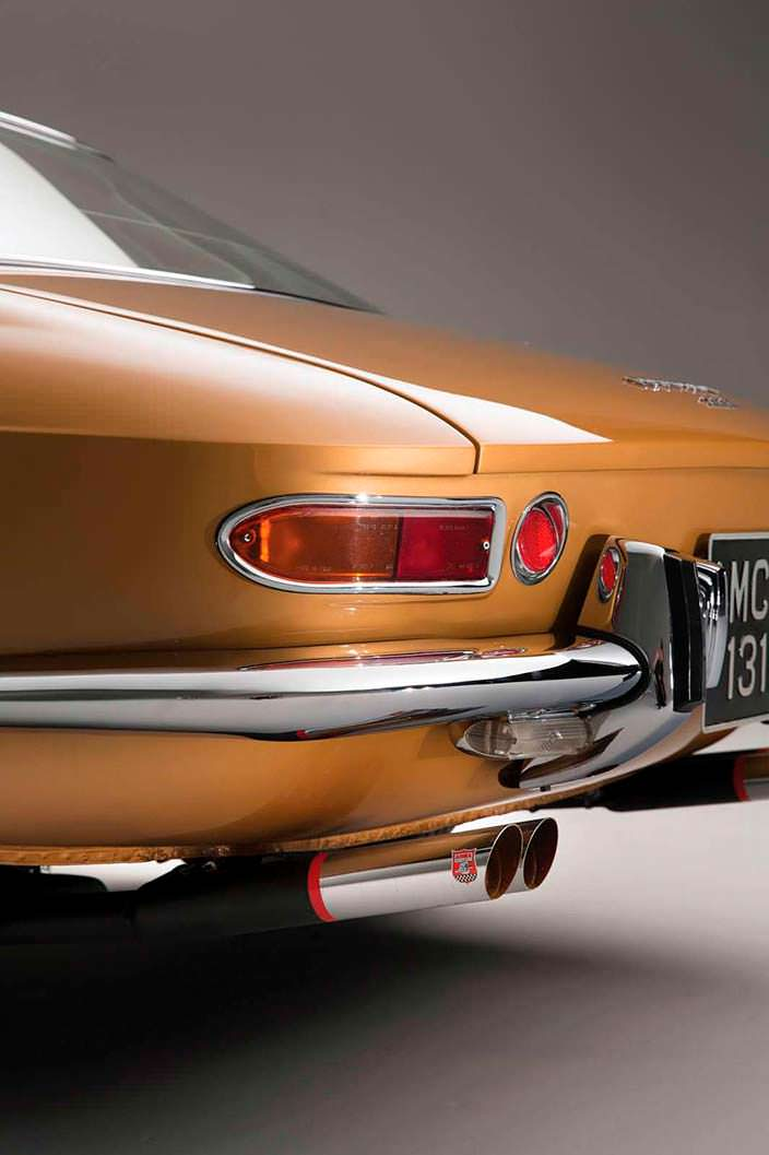 Фото | Оригинальные выхлопные трубы Ferrari 330 GTC