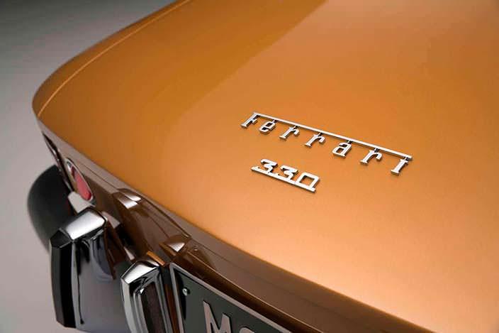Фото | Надпись на багажнике Ferrari 330 GTC