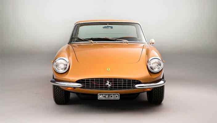 Золотистый Ferrari 330 GTC: ваш билет в 1960-е | фото