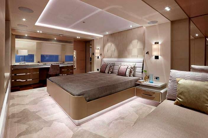 Фото | Дизайн каюты яхты Ruya от Bannenberg & Rowell