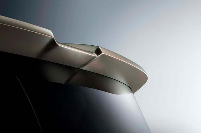 Фото | Спойлер на кромке крыши Infiniti QX80 Monograph