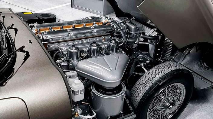 Двигатель Jaguar E-Type Reborn