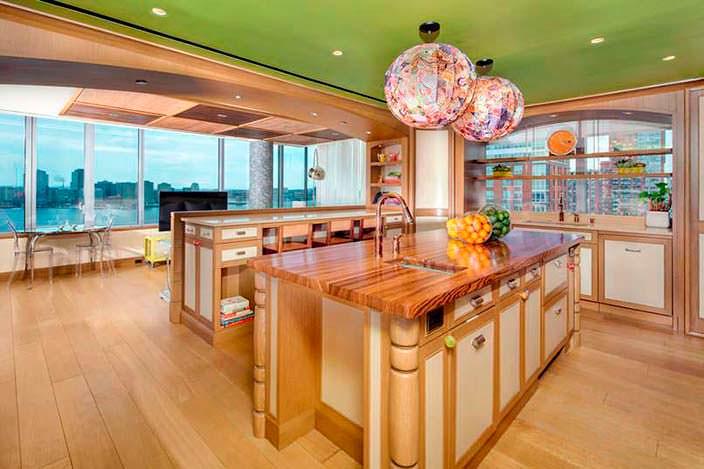 Фото | Дизайн кухни с панорамными окнами