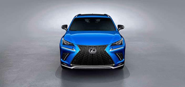 Новый Lexus NX F Sport 2018 года