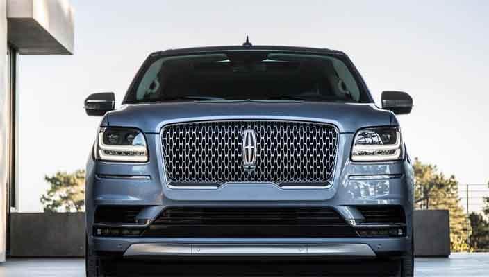 Новый внедорожник Lincoln Navigator 2018 официально | фото