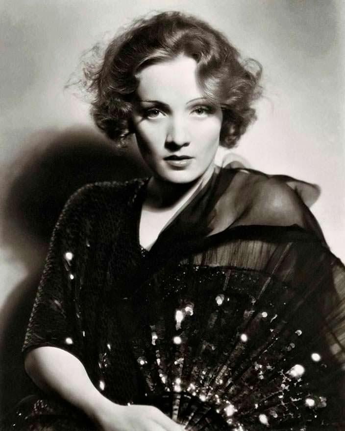 Фото | Марлен Дитрих в молодости. 1930 год