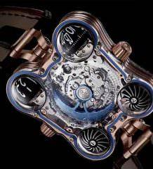 Сапфировые часы MB&F HM6 Sapphire Vision в деталях | цена