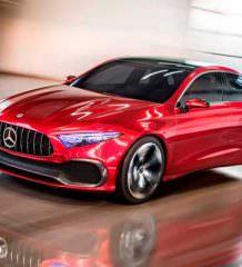 Mercedes Concept A Sedan: компакт будущего | фото, видео
