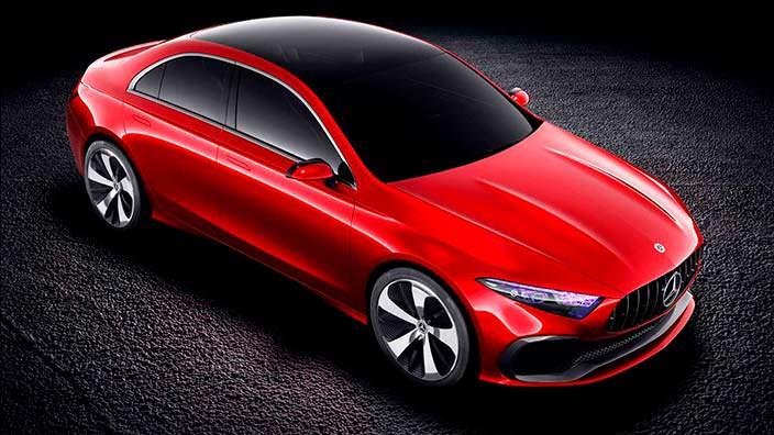 Mercedes Concept A Sedan: дизайн Aesthetics A