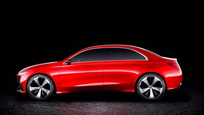 Mercedes-Benz Concept A Sedan: дизайн Aesthetics A