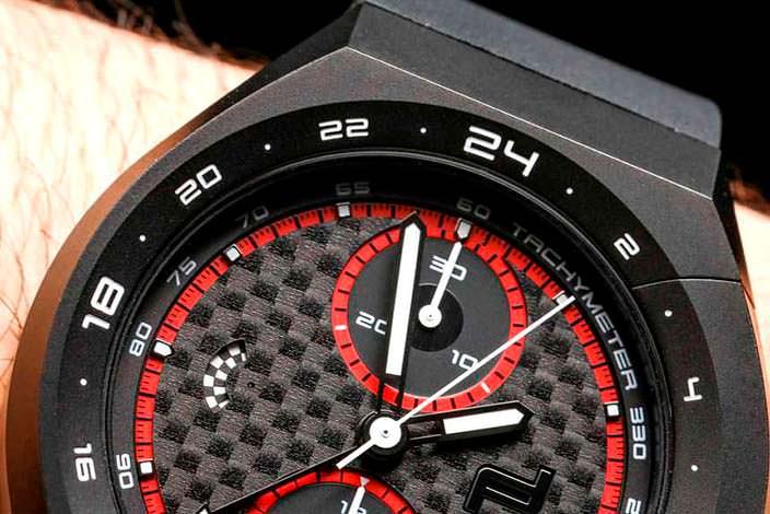 Часы с 24-часовым циферблатом от Porsche Design