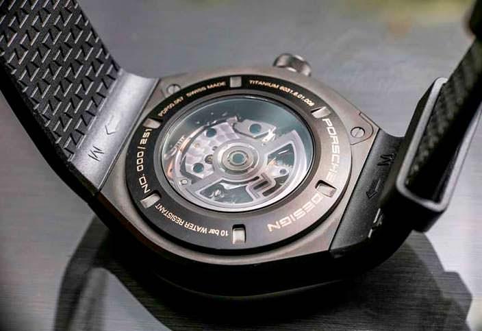 Новые часы Porsche Design Monobloc Actuator 24H Cronotimer