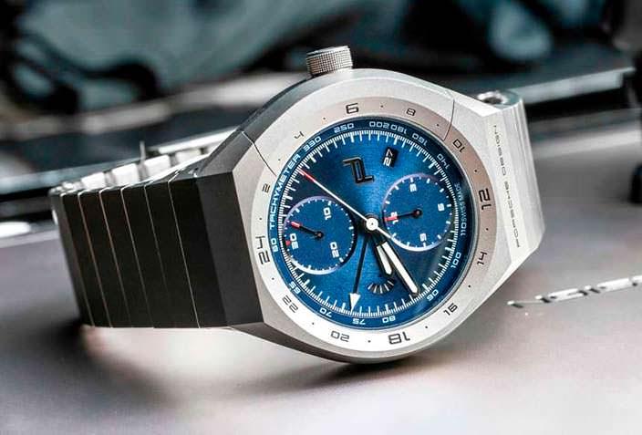Титановые часы Porsche Design Monobloc Actuator Chronograph