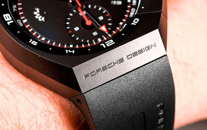 Часы с каучуковым ремешком от Porsche Design