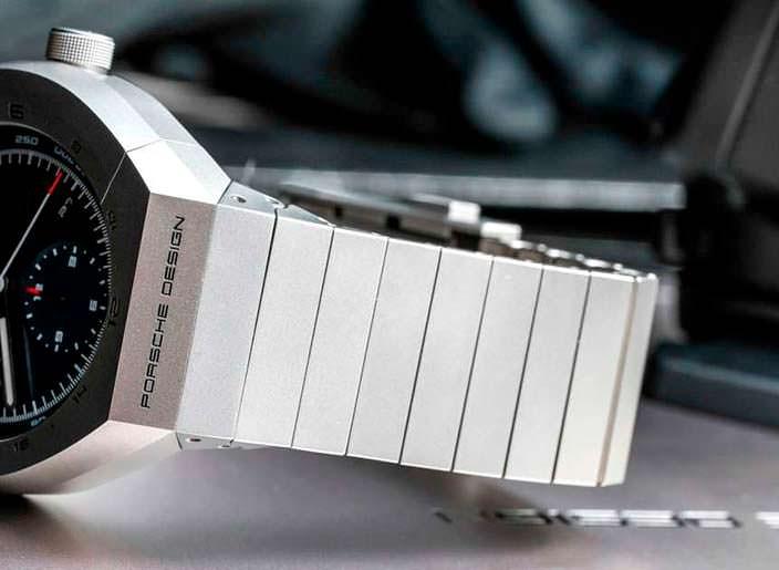 Титановые часы с титановым браслетом от Porsche Design
