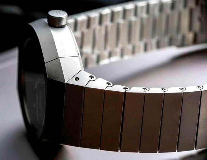 Титановый ремешок часов Porsche Design