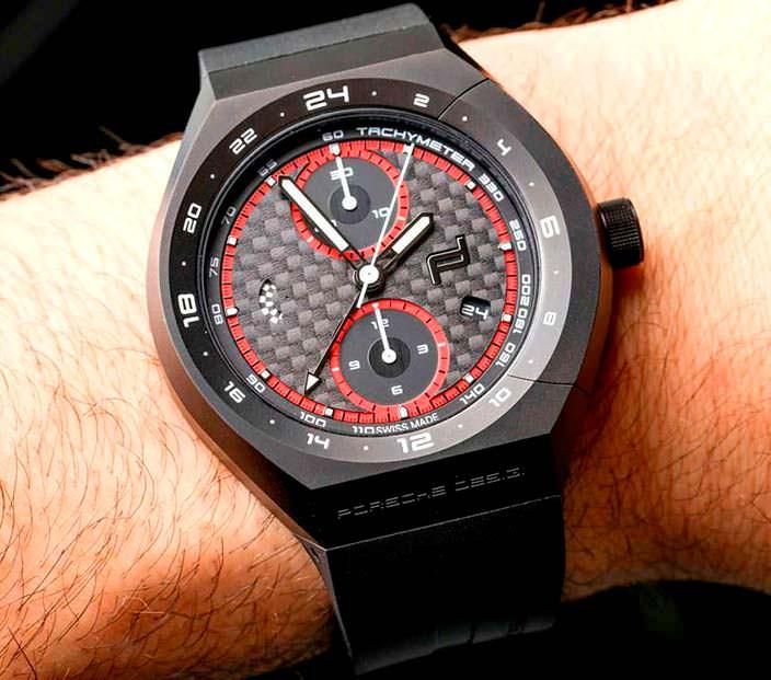 Карбоновые часы Porsche Design Monobloc Actuator 24H Cronotimer