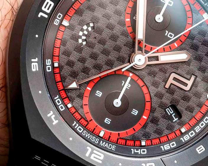 Ограниченные часы Porsche Design из карбона