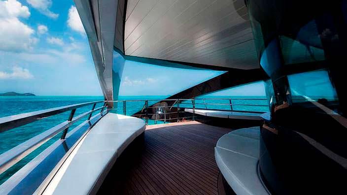 Фото | Палуба яхты The Ocean Emerald от Roadriquez Yachts