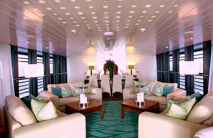 Фото | Дизайн интерьера яхты The Ocean Emerald