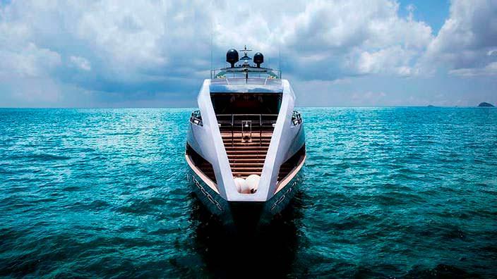 Фото | Яхта The Ocean Emerald. Дизайн Нормана Фостера