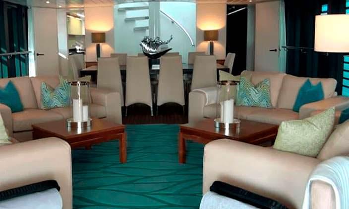 Фото | Интерьер яхты The Ocean Emerald 2009 года