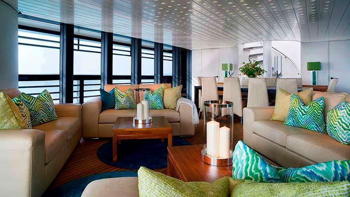 Фото | Интерьер Нормана Фостера на яхте The Ocean Emerald