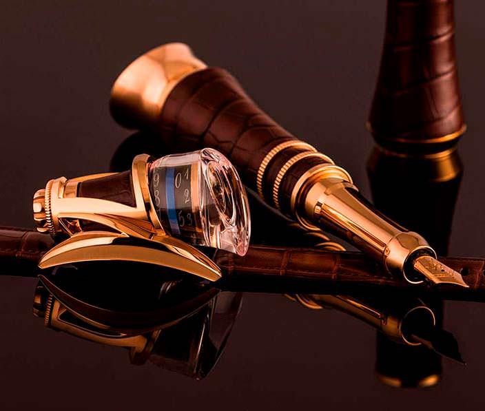 Фото | Часы/колпачок для ручки Anura Rafael Write Time